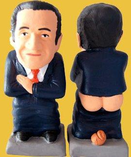 Caganer Sarkozy - Photo Caganer.com